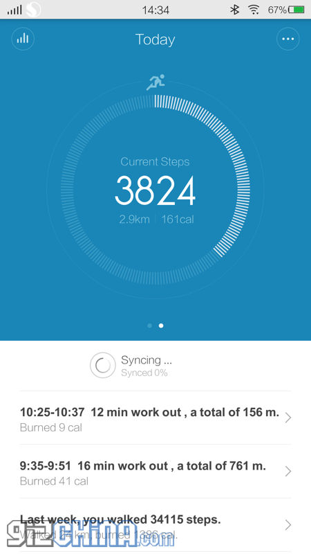 xiaomi mi band app review
