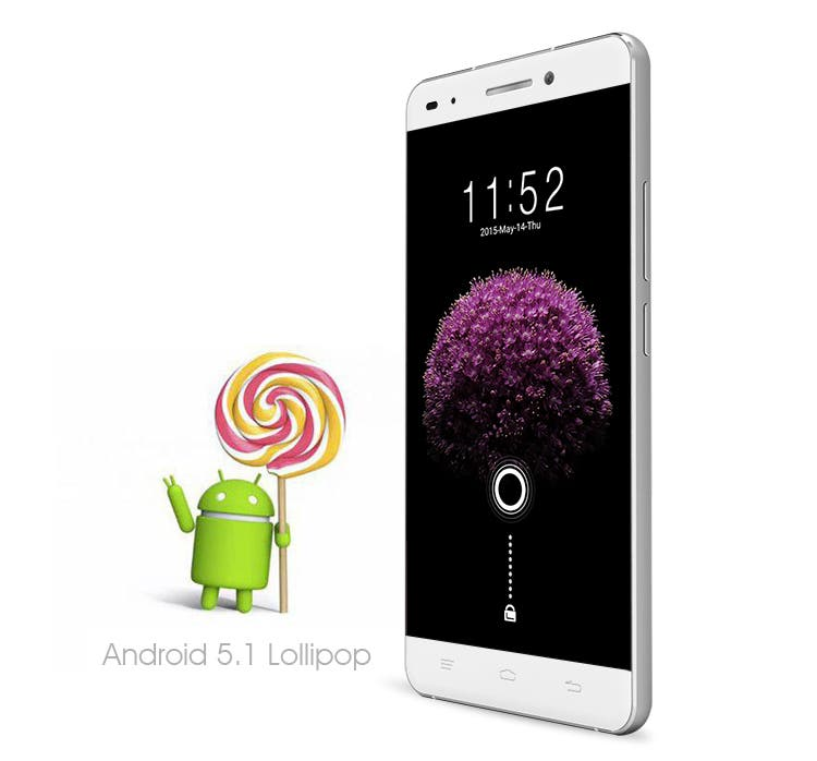 1 Android 5.1 of OUKITEL U8