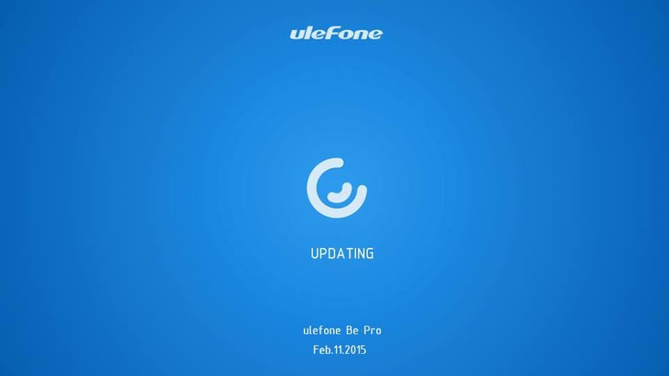 ulefone be pro update