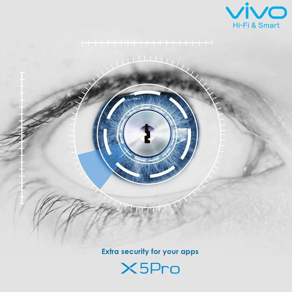 vivo x5pro retina scanner