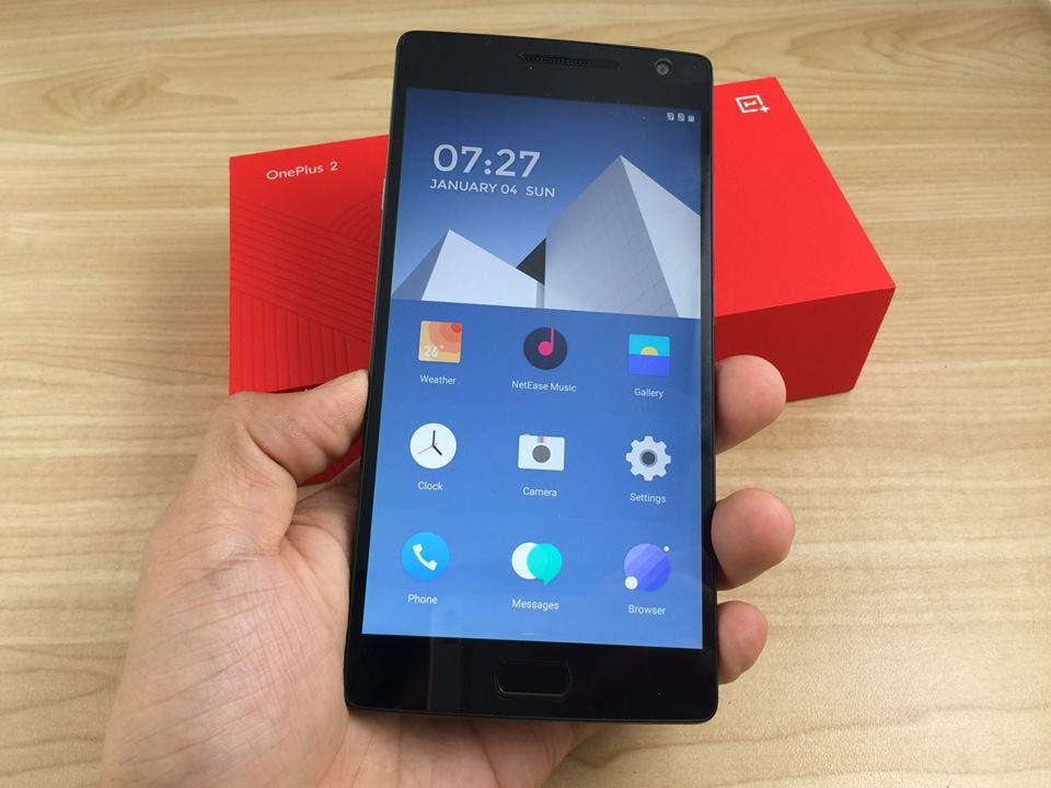 shop.gizchina.com oneplus 2 hands on photos