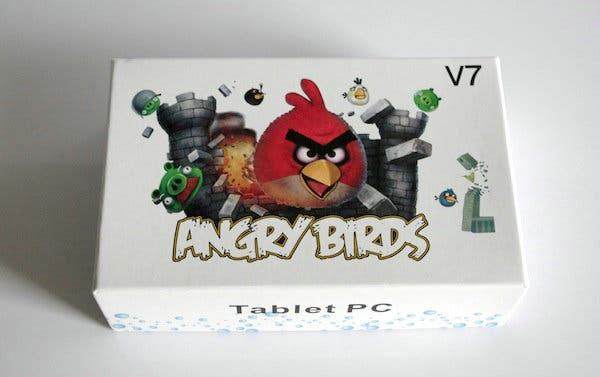 angry birds,android tablet,chinese android tablet,low cost android tablet