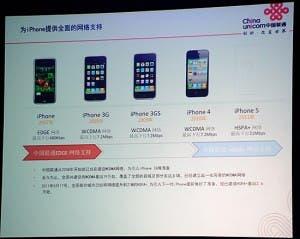 china unicom iphone 5 hspa+ leak