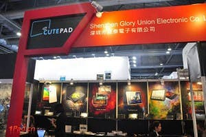 20111014074152949 300x199 CutePad Shows Off $62 Tablet at Canton Fair