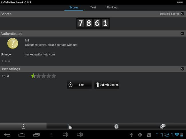 pipo m1 android jelly bean tablet antutu