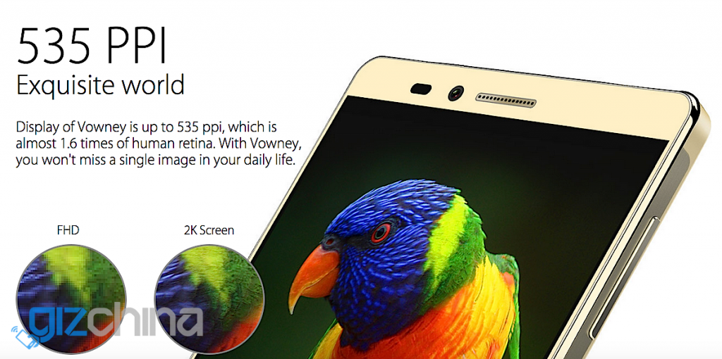 elephone vowney specifications