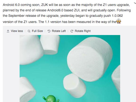 zuk z1 marshmallow