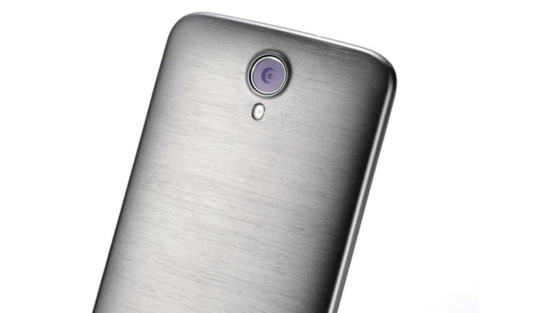 Doogee Y100 Plus brushed aluminum design