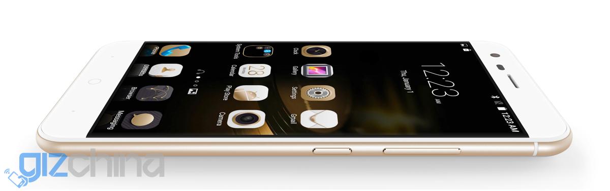 Golden Ulefone Paris 1