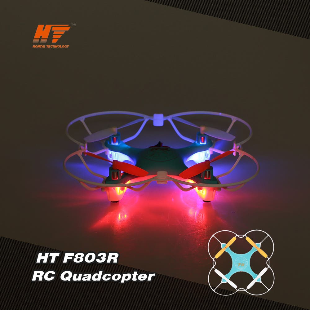 HT F803R 2.4G 4CH 6-Axis quadcopter