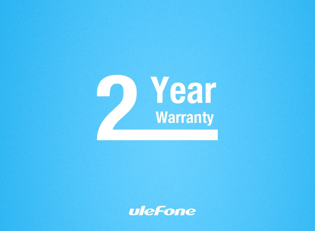 ulefone 2 year warranty