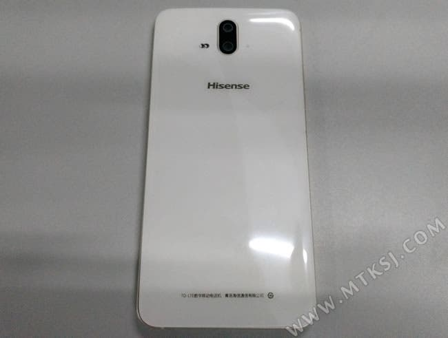 hisense a1 dual camera phone