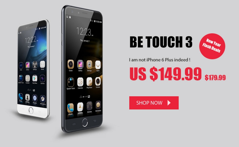ulefone be touch 3 sale