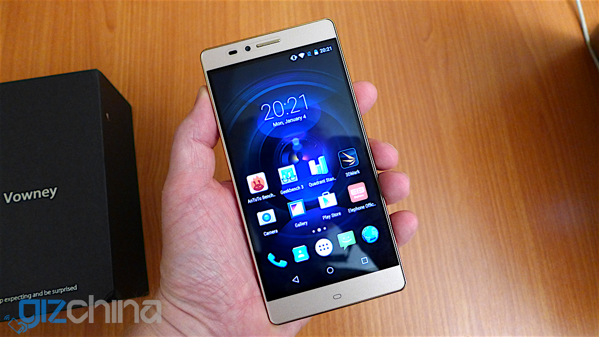 elephone vowney 2k hands on 1