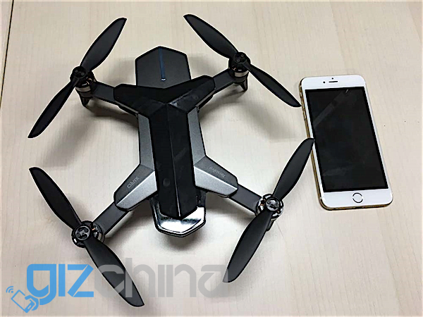 tencent folding selfie drone