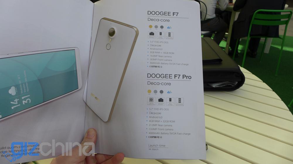 doogee f7 specifications