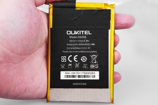 ouktel k6000 teardown