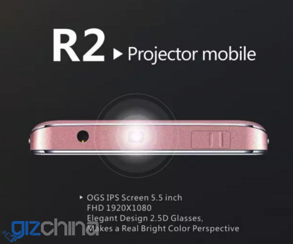 siswoo r2 projector phone