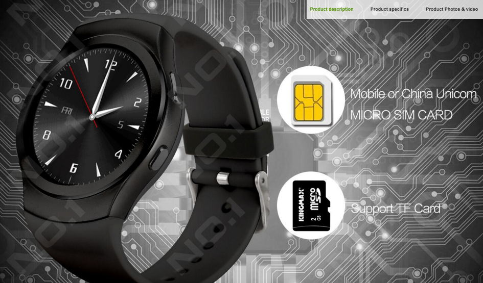 no1 g3 smartwatch