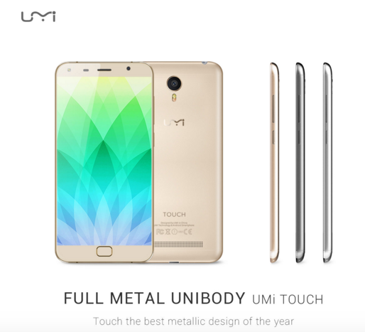 umi touch gold