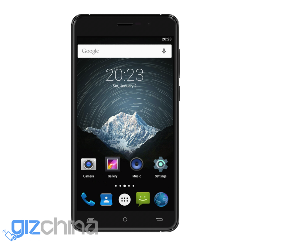A trio of phones announced, Cubot Z100, S500 and S550 ...