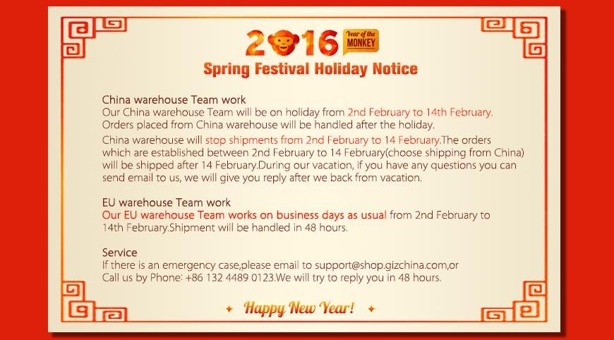 shop gizchina holiday notice