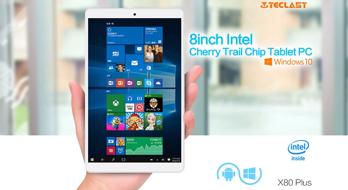 teclast x80 plus windows 10 tablet