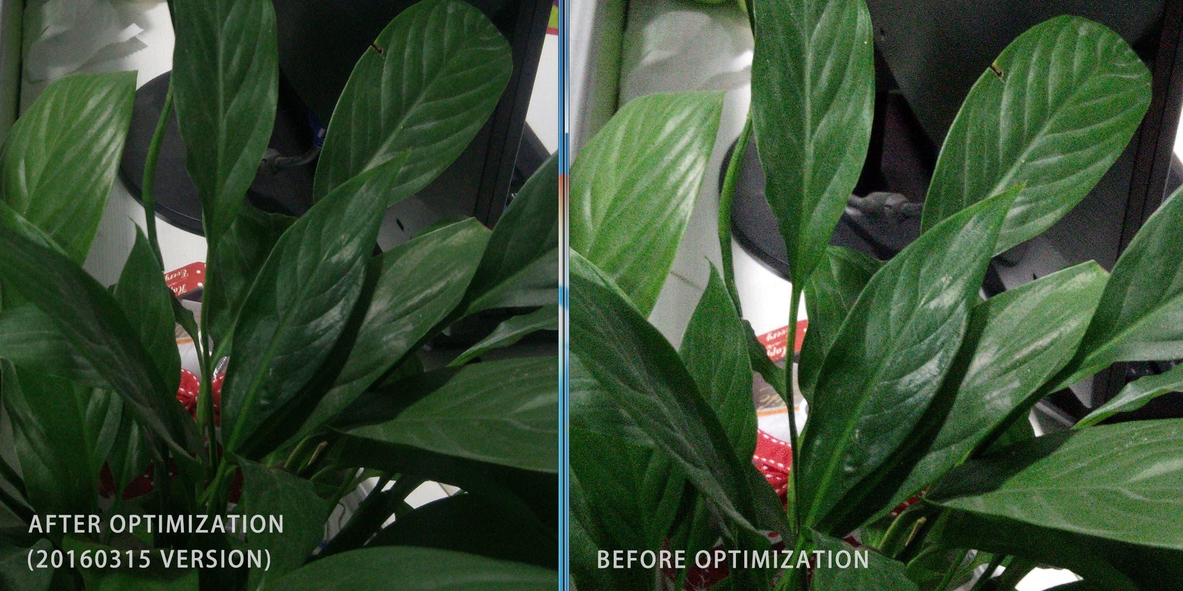 Elephone P9000 CAM Comparison-Low Light