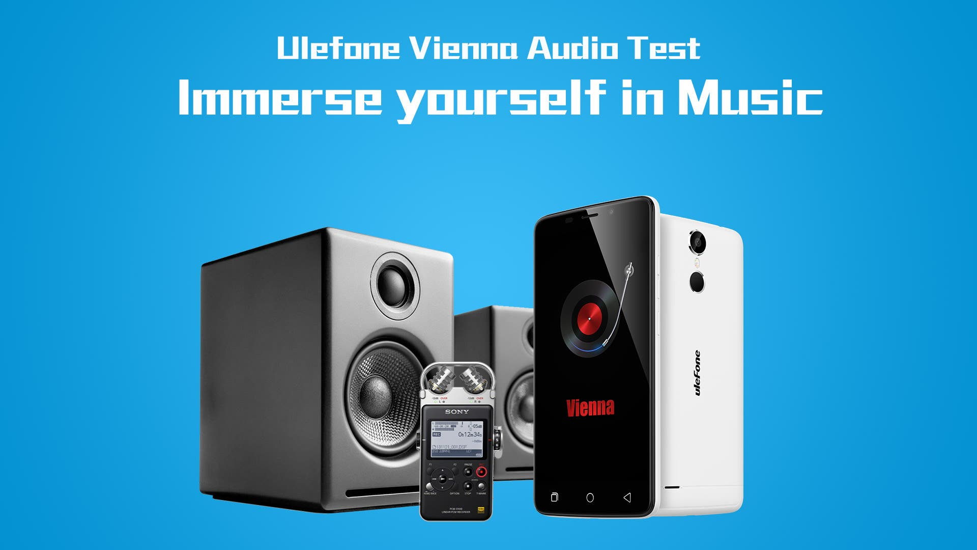 Ulefone Vienna Audio Test