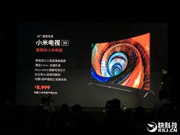 xiaomi curved tv