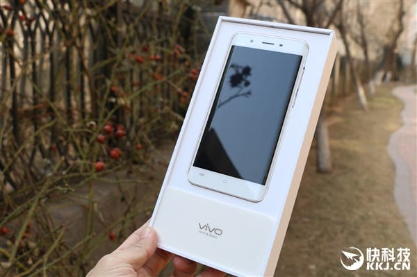 vivo Xplay5 unboxing real photos