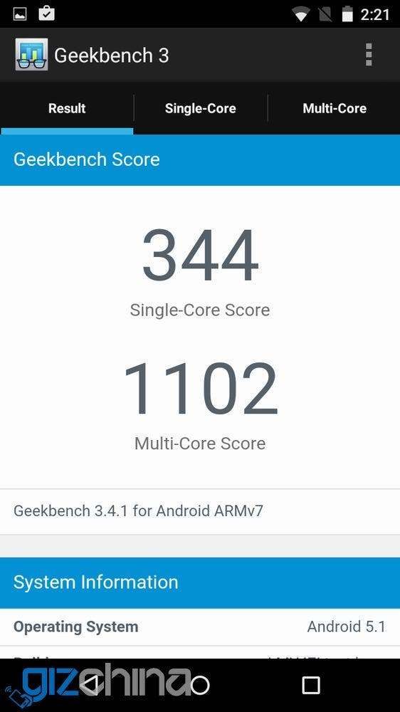bluboo picasso benchmarks