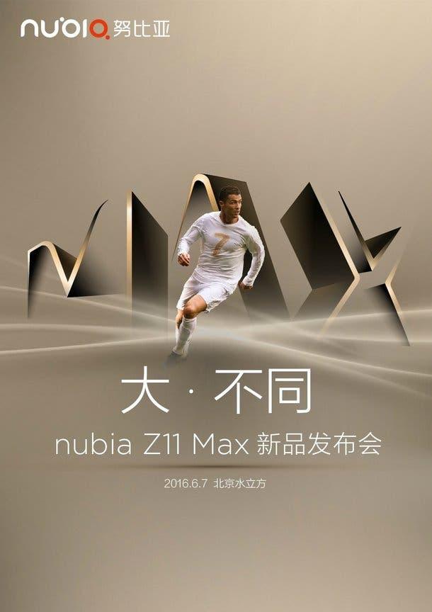 nubia z11 max launch
