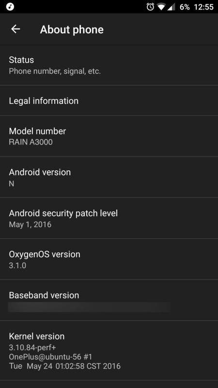 oneplus 3 android n