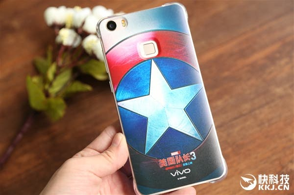 vivo xplay 5 captain america