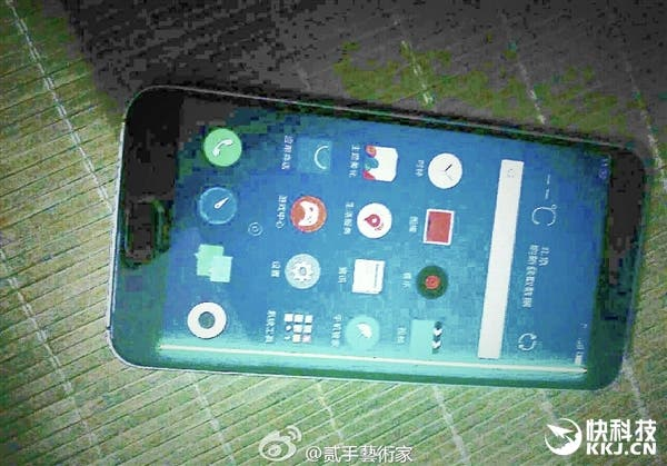 meizu curved display leaked