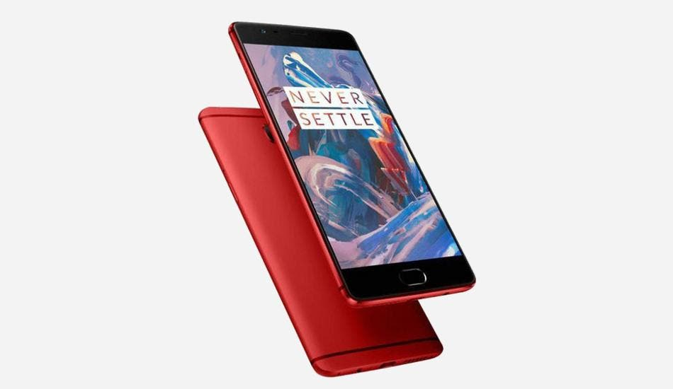red oneplus 3