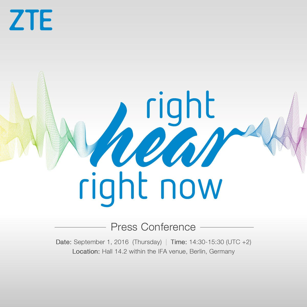 zte right hear right now