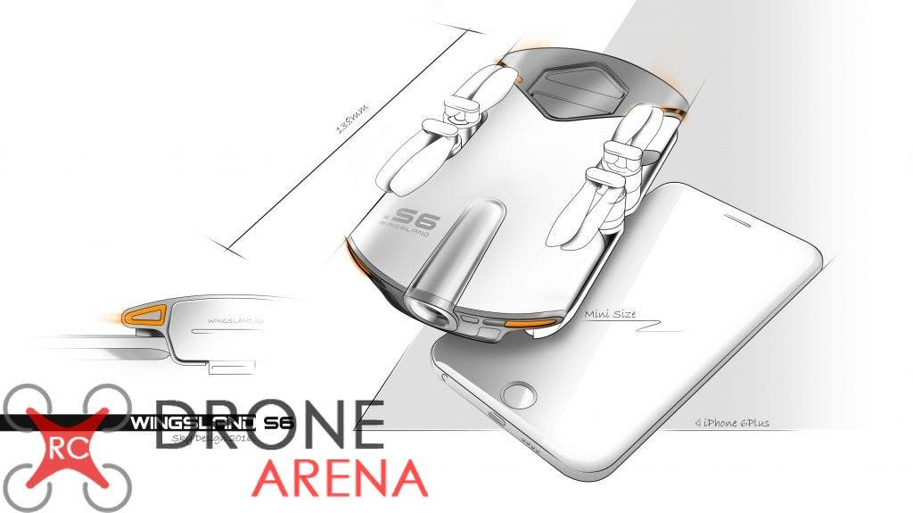 Wingsland S6 RC Drone Arena 3