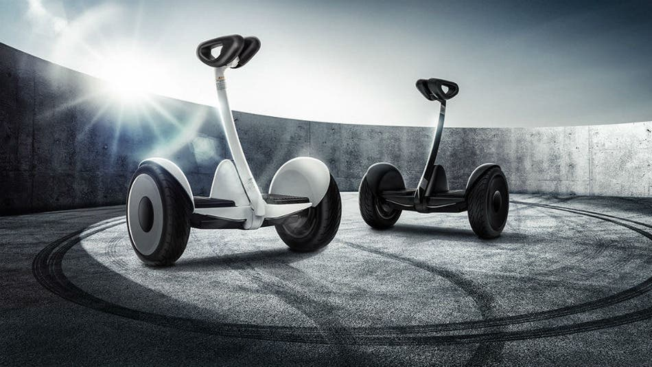 XIaomi's own electric scooter, the Ninebot Mini