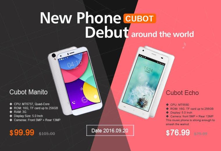 Cubot Manito & Cubot Echo