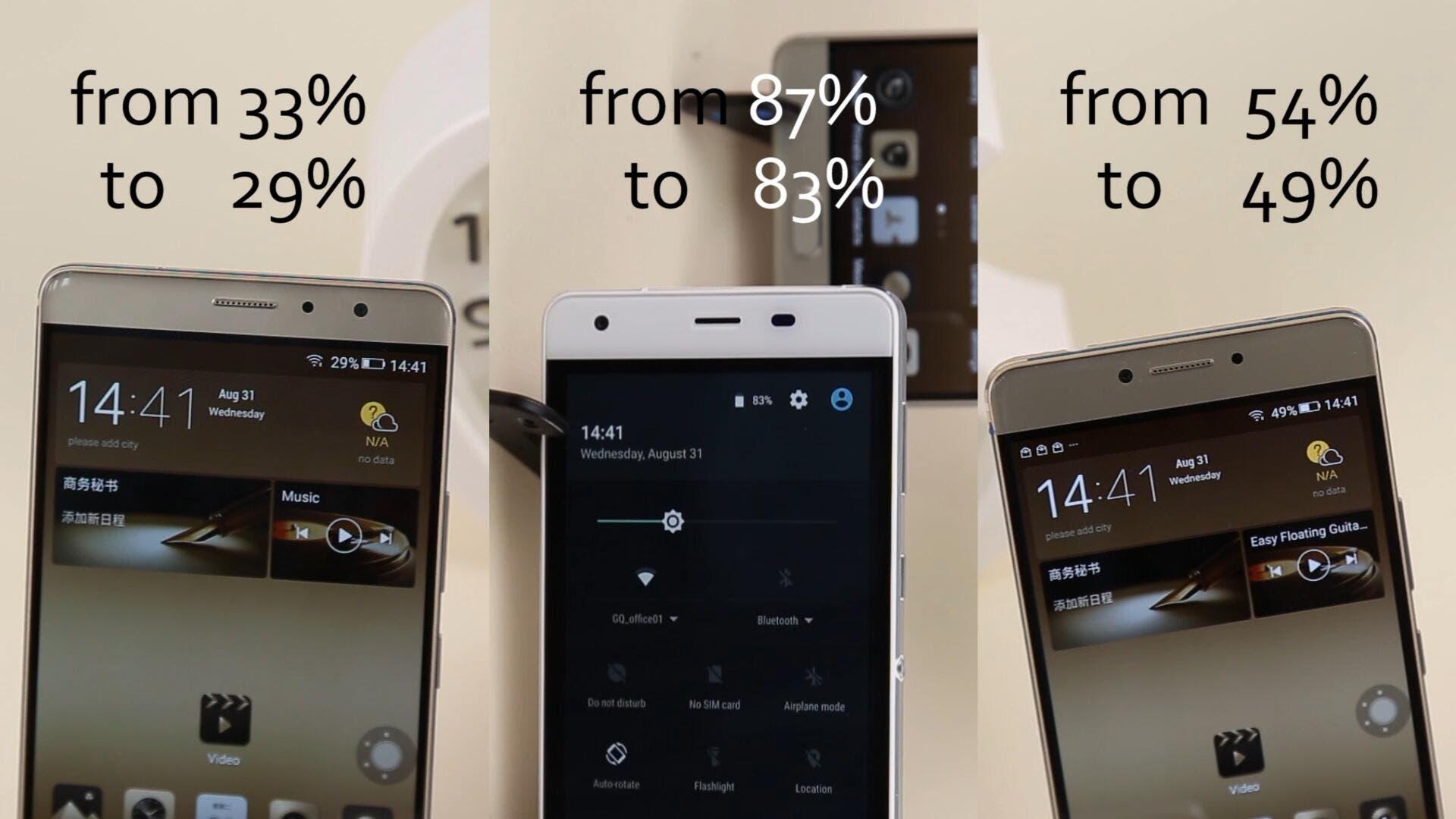 Ulefone Power vs Gionee M6 vs Gionee M6 Plus