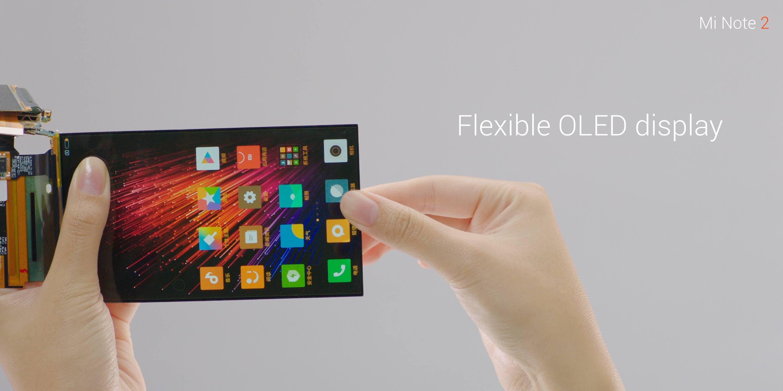 Xiaomi Mi Note 2 specifications: Display
