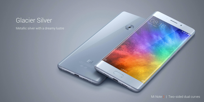 Xiaomi Mi Note 2 specifications: Colors