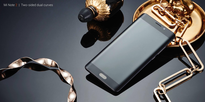 Xiaomi Mi Note 2 specifications: Piano Black