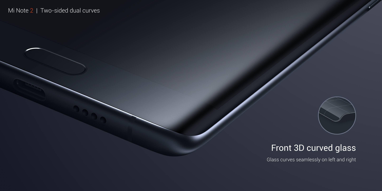 Xiaomi Mi Note 2 specifications: Edge