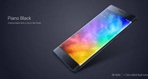 Xiaomi Mi Note 2 specifications: OLED display