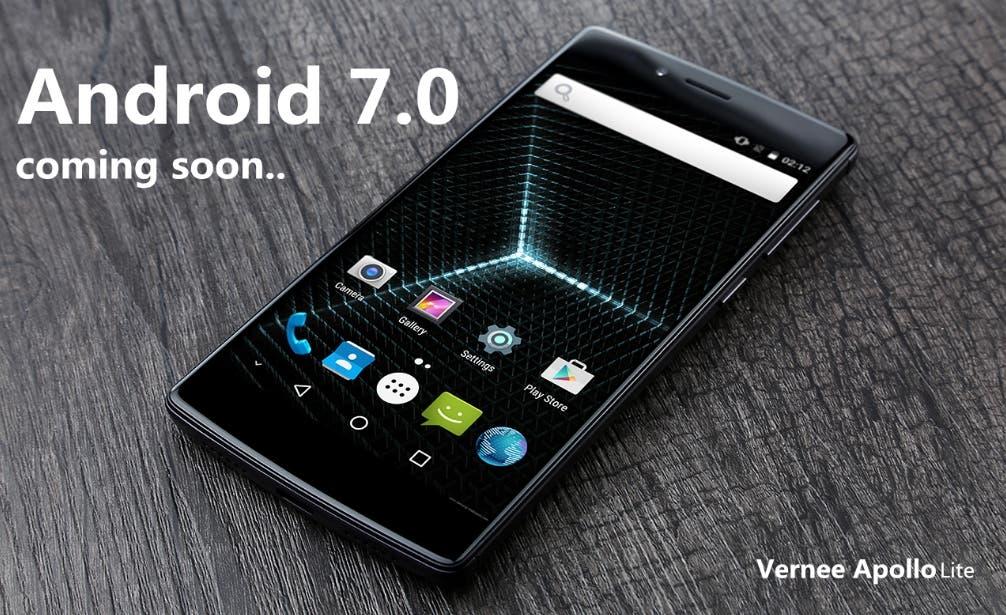 vernee apollo lite android 7