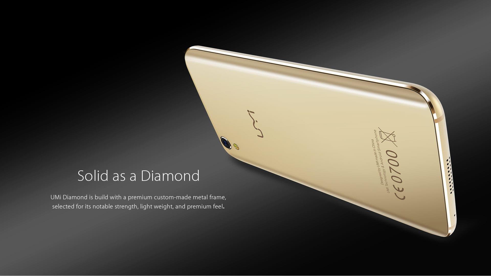 UMi Diamond specifications