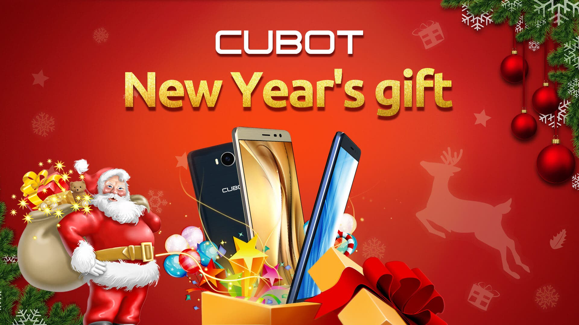 Cubot giveaway